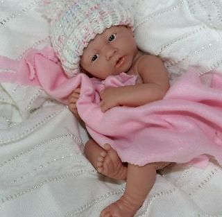NEW~ OH Baby! Preemie Berenguer La Newborn Doll for Reborn or Play