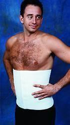 "Abdominal Binder 12"" Male/Female Compression Garment"