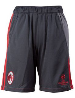 Ac Milan Adidas Shorts Hose training tg with pockets 2012 13 UCL Grey