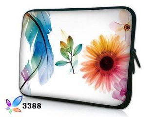 10 Flower Laptop Bag Sleeve Case For 10.1 HP Mini 110 210 / Acer
