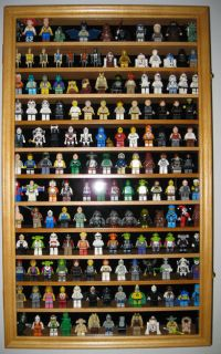LEGO MEN / Action Figures / Disney / Minatures Display Case Wall