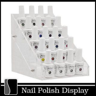 Clear Acrylic Nail Polish Small Display Stand Rack Organizer Table