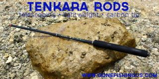 TENKARA TELESCOPING Carbon Fly Fish Rod 14 ft 2 in with FOAM Handle