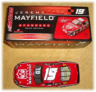 2006 ACTION RACING #19 JEREMY MAYFIELD CHARGER CLUB CAR 1 OF 240 124
