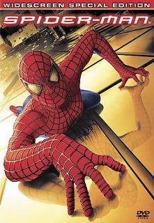 SPIDER MAN SPECIAL WIDESCREEN EDITION DVD   TOBEY MAGUIRE   KIRSTEN