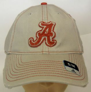 NCAA Football Alabama Crimson Tide Adidas Cap Hat Slouch & NEW