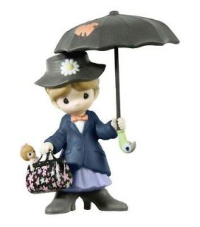 Hallmark 2012 Mary Poppins Disney Precious Moments Porcelain Ornament