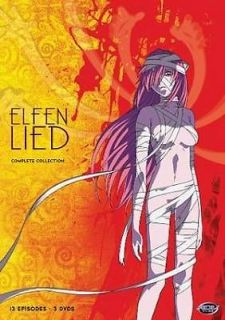 ELFEN LIED COMPLETE COLLECTION   NEW DVD BOXSET
