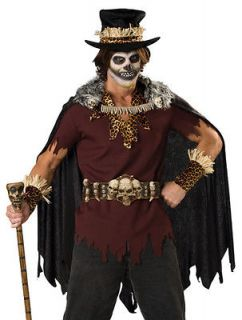 Witch Doctor Voodoo Priest Adult Mens Halloween Costume