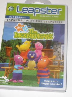 Leap Frog Leapster Learning System Game~Nick Jr The Backyardigans