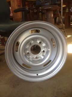 15x7 Aftermarket Rally Wheel Chevy Truck Hot Rod 5 on 5