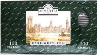 Ahmad Tea London Earl Grey Tea   100 tea bags