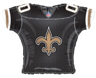Saints 23 NFL Football Jersey Mylar Foil Balloon  Party Decoration