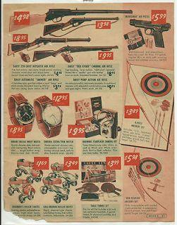 Toy Advert   BB GUNS   AIR RIFLES   SKATES   BOW & ARROW   SPORTS
