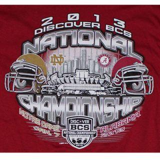 BCS National Championship T Shirt   Alabama vs Notre Dame   BMOC