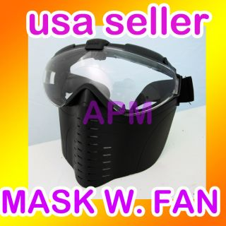 New Death Skull Bone Airsoft Full Face Protect Safe Mask #W2