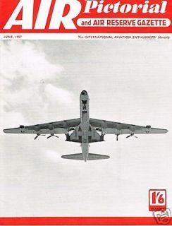 AIR PICTORIAL JUN 57: THE SHORTS STORY/ BLACKBURN SPRAT/ GLOSTER