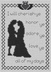 Celtic Obsessions Celtic Wedding Cross Stitch Pattern