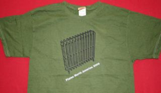 PIXIES Radiator 2005 Tour T Shirt *NEW the band concert