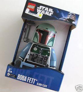 Newly listed LEGO Star Wars Boba Fett Alarm Clock New