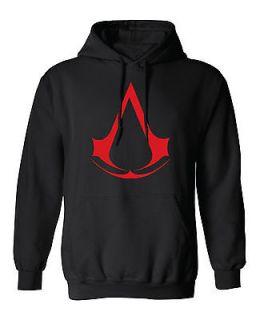 CREED HOODIE. hooded sweatshirt game black ops ps xbox altair ezio pc