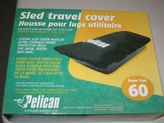 Pelican Recreation SNOW TREK 60 DURABLE UTILTY SLED COVER PS2000