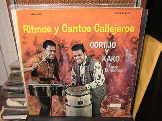 CORTIJO Y KAKO Ritmos y Cantos Callejeros LP Bomba Plena Afro Latin