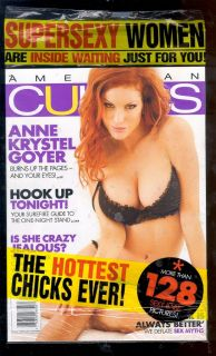 AMERICAN CURVES #56 DEC 2009 ANNE GOYER NEW SEALED COMIC KINGS VA