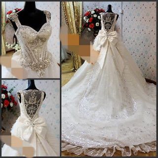 Wedding Dress on 2013 Elie Saab Wedding Dress With Swarvoski Crystal Custom Made Vera