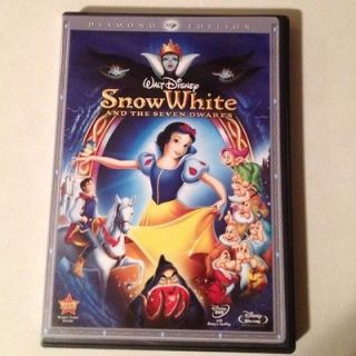 WALT DISNEY SNOW WHITE AND THE SEVEN DWARFS DIAMOND EDITION BLU RAY