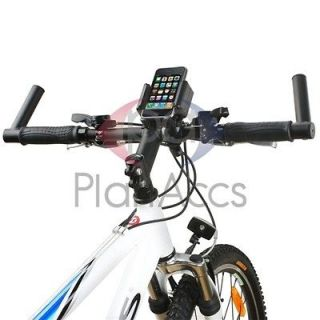 Black Bicycle Bike Phone Handlebar Mount Holder Accessory New For HTC