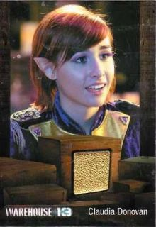 13 Season 3 relic costume card Allison Scagliotti as Claudia Donovan