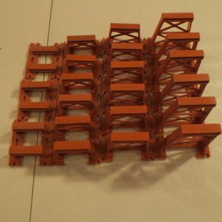 American Flyer Trains 24 Piece Graduated Trestle Set Nothing Broken