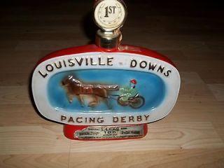 louisville downs kentucky whisky bottle 1978 vintage