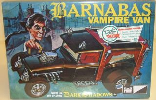 DARK SHADOWS TV SHOW  Barnabas Vampire Van MPC model kit made 2011
