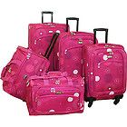 American Flyer Madrid 5 Piece Spinner Luggage Set