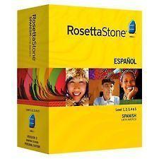 NEW unopened Rosetta Stone Spanish Espanol Latin America Level #1 5 V3