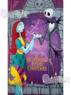 NEW The Nightmare Before Christmas Jack Beach Bath Cotton Towel