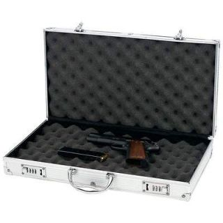 Newly listed New Aluminum Framed Locking Pistol Gun Case   Handgun