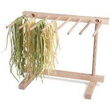 Harold Import Wooden Pasta Drying Rack NEW