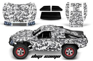 AMR RACING RC GRAPHIC DECAL KIT UPGRADE   TRAXXAS SLASH 4X4 BODY