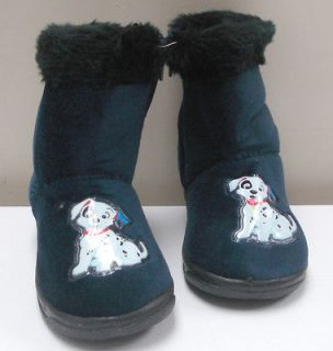 Brand New Boys / Girls Faux fur Navy Boots Shoes Toddler Size 5
