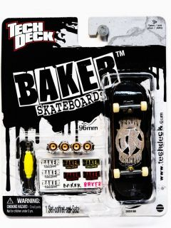 TECH DECK BAKER FINGER BOARD 96MM SKATEBOARD