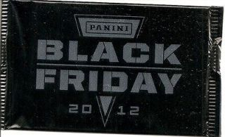 2012 Panini Black Friday Pack Unopened Andrew Luck RG3 Bryce Harper