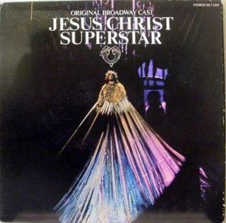ORIGINAL BROADWAY CAST jesus christ superstar LP VG+ DL7 1503 Vinyl