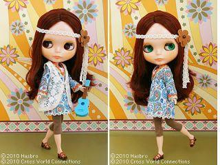 Takara 12 Neo Blythe Doll Bohemian Peace +++SALE+++
