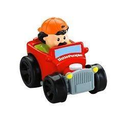 Fisher Price Little People Wheelies Hot Rod Car NEW