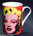 ANDY WARHOL x Block China Marilyn Monroe (orange) Porcelain Artist