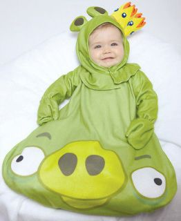 Infant Baby Boys Girls Angry Birds King Pig Halloween Costume 0 9