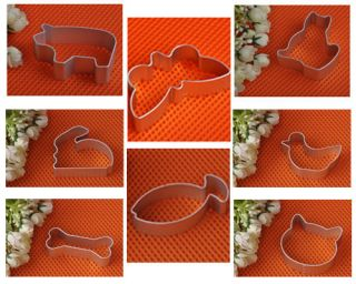 Classic Animal Style Metal Cutter Buscuit/Cookie /Cake/Jelly Tin Mould